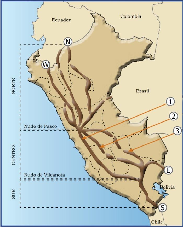 Cordillera De Los Andes Perú