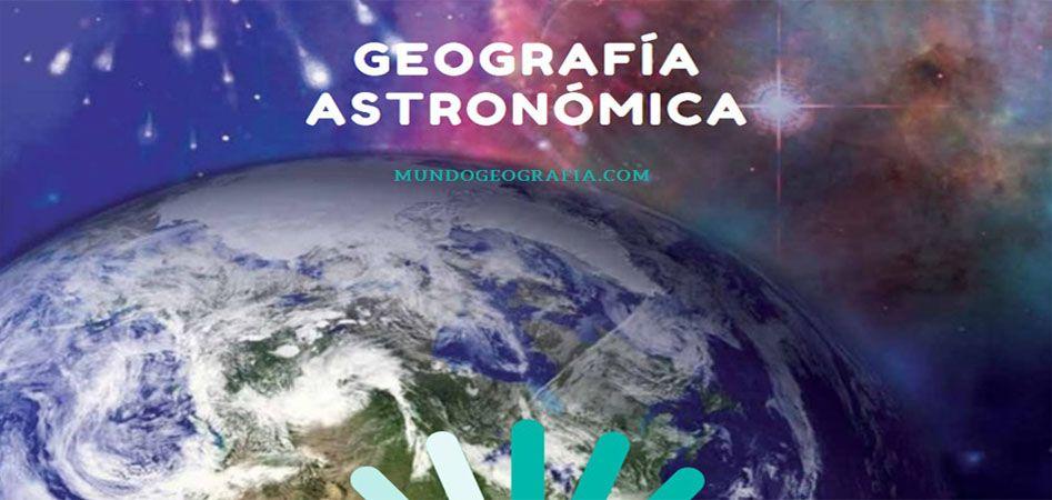geografía astronómica